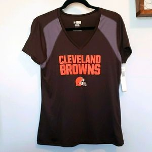 NEW NFL Cleveland Browns women's top